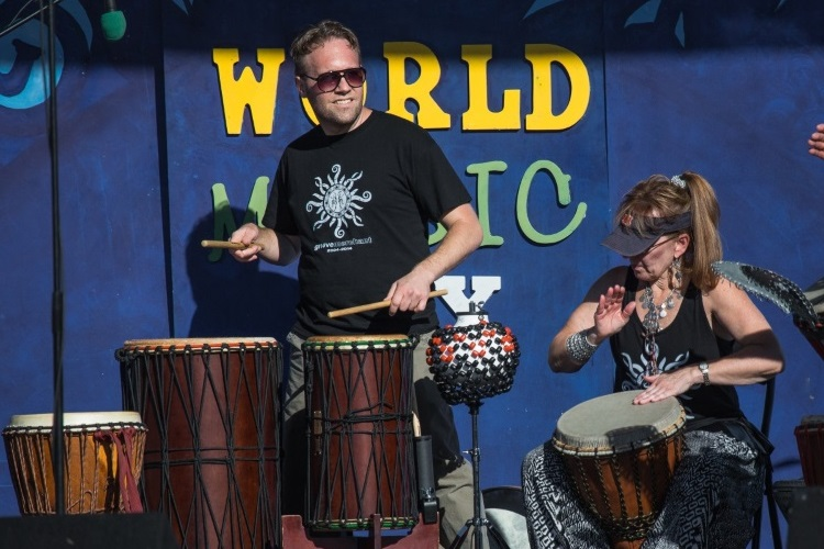 World Music Day 2017 Main Stage Artist Groove Merchant