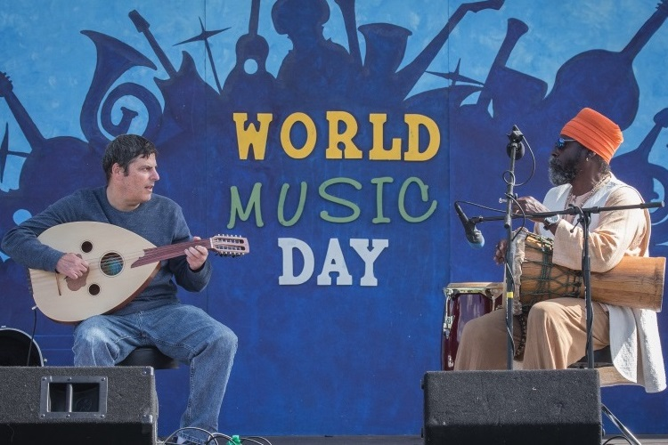 "World Music Day 2017 Main Stage Artists ""Shakshuka Blues"" featuring SiriOm Singh and Dror Gliksman"